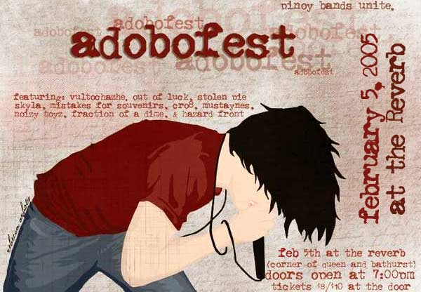 Adobofest 2005 - Official Ad