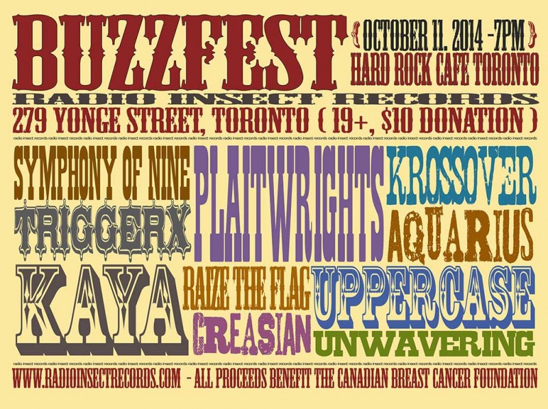 Radio Insect Records presents Buzzfest 2014 !
