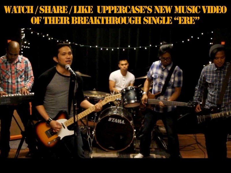 "Uppercase's new music video of their breakthrough single ""Ere""."